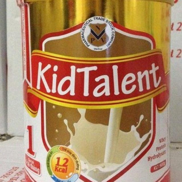 Sữa Kidtalent 1 (900g) cho trẻ 6-36 tháng (date 2020)