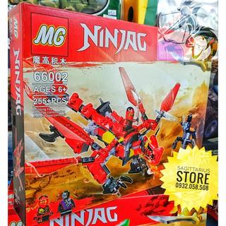 LEGO Lắp Ráp Rồng Bay NinjaGo 66002 – Đỏ ( 255 Miếng )