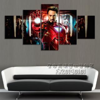 Tranh Gỗ Treo Tường Hình Iron Man Trong Phim Avengers