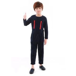 Bộ quần áo bé trai Narsis KE9068 màu tím than thumbnail