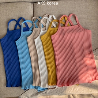 Summer Fashion New Baby Girls Solid Color Sling Romper