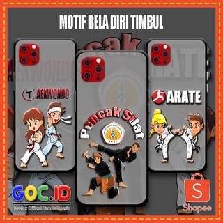 Ốp điện thoại silicon họa tiết hoạt hình Taekwondo cho iPhone6 iPhone7 iPhone6 Plus iPhone7 Plus iPhone11pro thumbnail