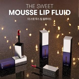 Son môi VT X BTS The Sweet Mousse Lip Fluid Màu 01 - Đỏ Nhung 4.5g-4