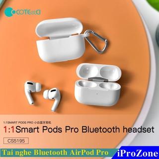 Tai nghe Bluetooth TWS Airpod Pro Chính hãng COTEetCI Smart Pod Pro 1:1 bảo hành 06 tháng