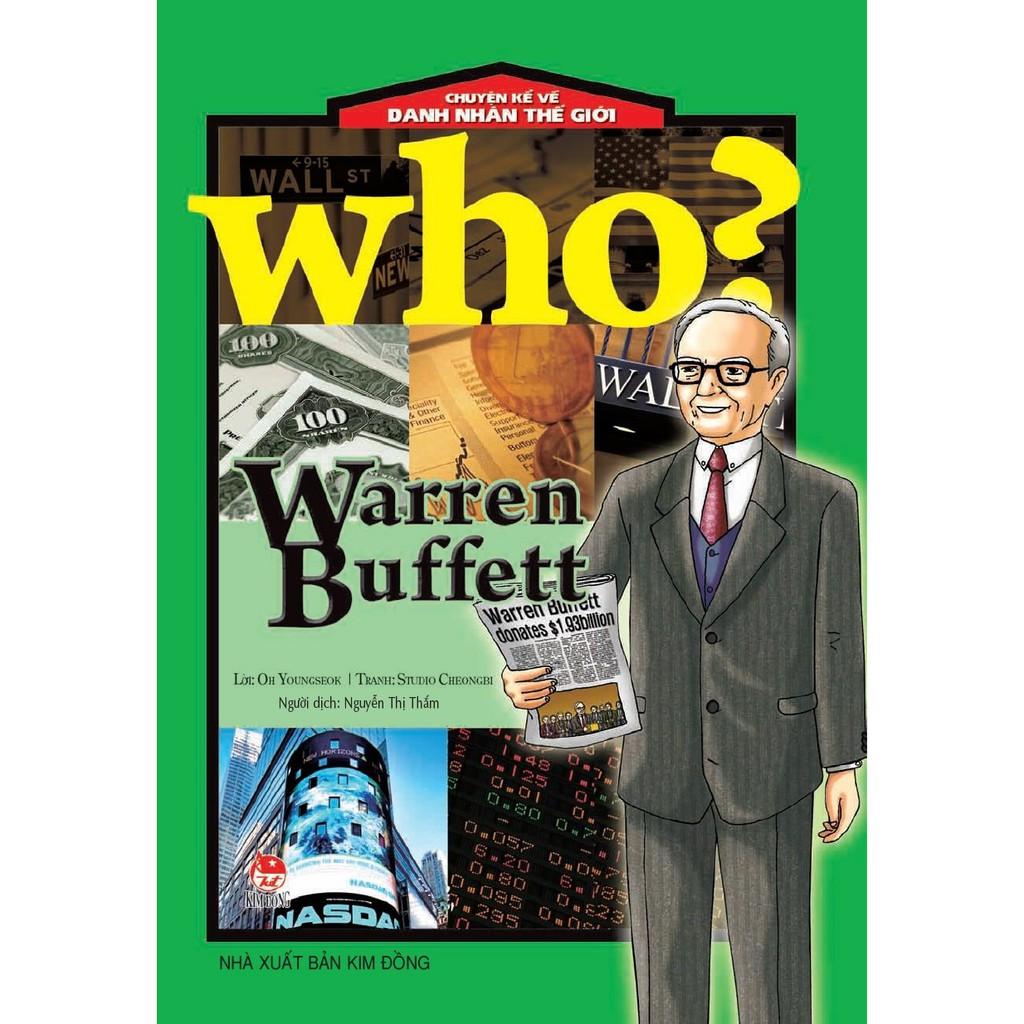 Sách: Chuyện Kể Về Danh Nhân Thế Giới - Warren Buffett