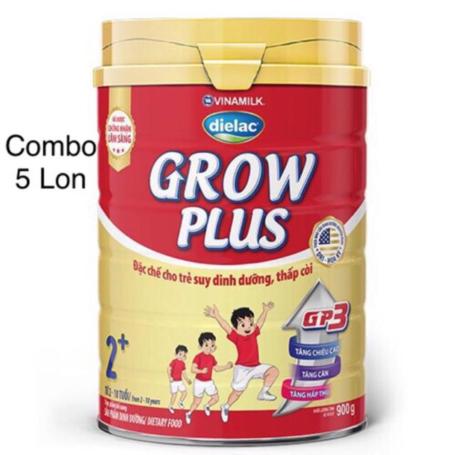 Combo 5 lon Sữa bột Dielac Grow Plus 2+ Hộp thiếc 900g - 3506138 , 1238431307 , 322_1238431307 , 1145000 , Combo-5-lon-Sua-bot-Dielac-Grow-Plus-2-Hop-thiec-900g-322_1238431307 , shopee.vn , Combo 5 lon Sữa bột Dielac Grow Plus 2+ Hộp thiếc 900g