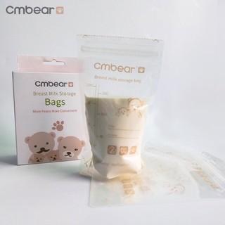Túi trữa sữa Cmbear 220ml hộp 30 túi thumbnail