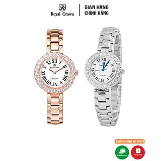 Đồng hồ nữ Chính hãng Royal Crown 6305 Dây thép thumbnail