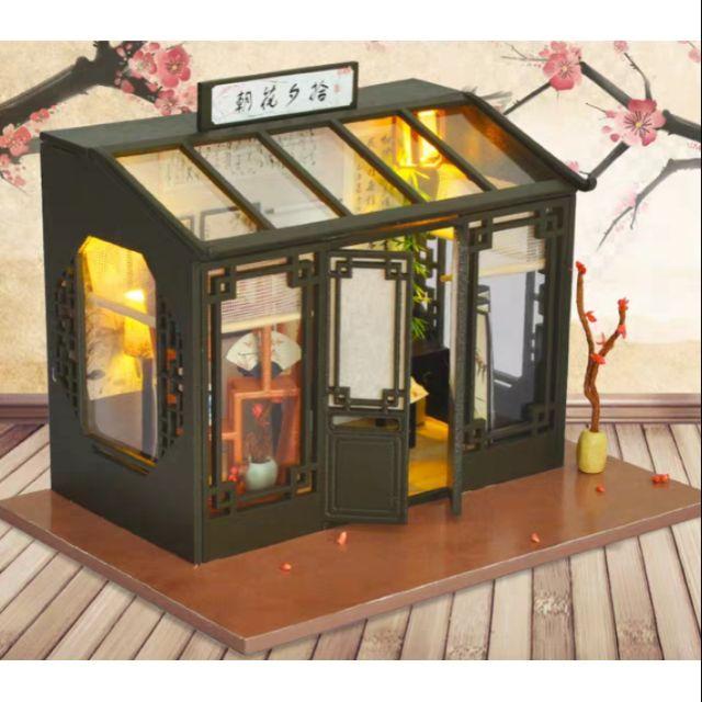 Mô hình nhà gỗ búp bê Dollhouse DIY – TD29 Calligraphy