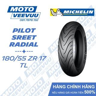 Lốp Michelin 180 55 ZR 17 TL Pilot Street Radial (180 55-17 Lốp không ruột) thumbnail