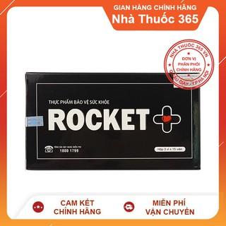(Hàng Chuẩn-Che tên hàng) Rocket + PLus Tăng sinh lý nam Sao Thái Dương 45 viên uống thumbnail