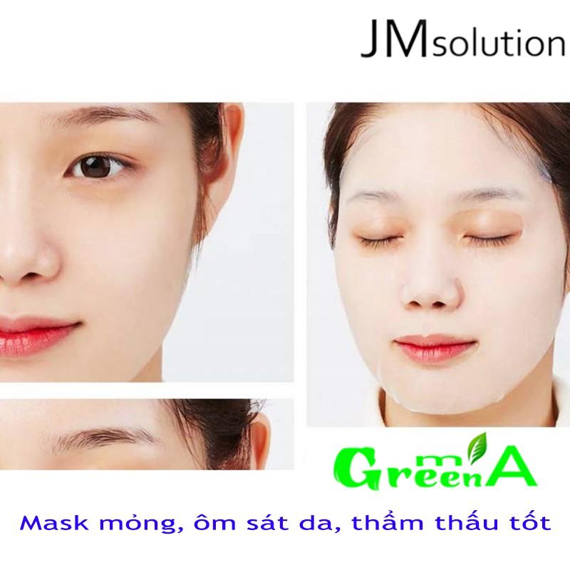 JMSOLUTION Mặt Nạ Sứa Bổ Sung Ẩm Làm Sáng Da Tăng Đàn Hồi JM Solution Active Jellyfish Vital Mask Prime 30ml