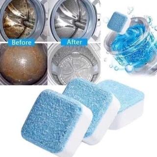 Viên tẩy vi khuẩn lồng máy giặt siêu sạch - hình 1