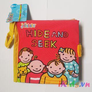 Sách vải Jolly Baby – Chủ đề Hide and Seek
