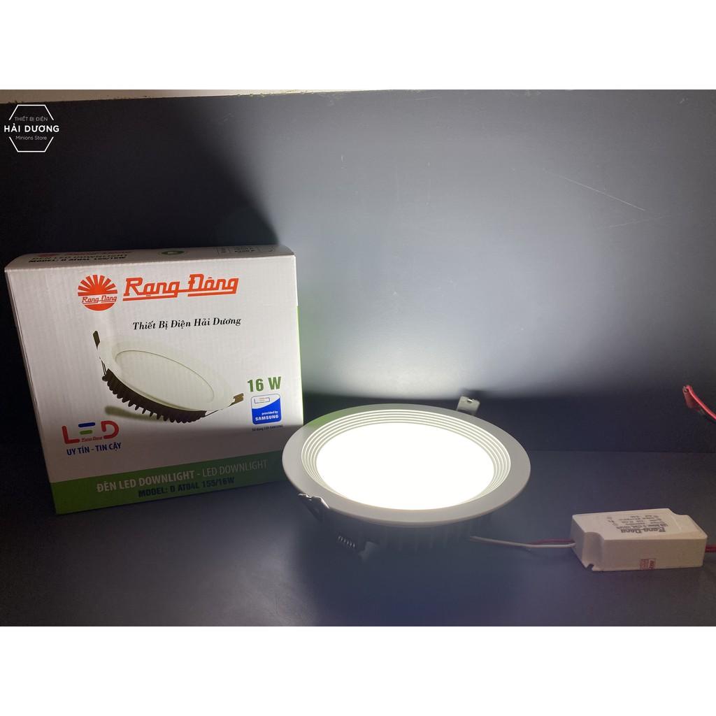 Đèn Led Downlight Rạng Đông Âm Trần D AT04L 155 / 16W - 25W - Bảo hành 2 năm