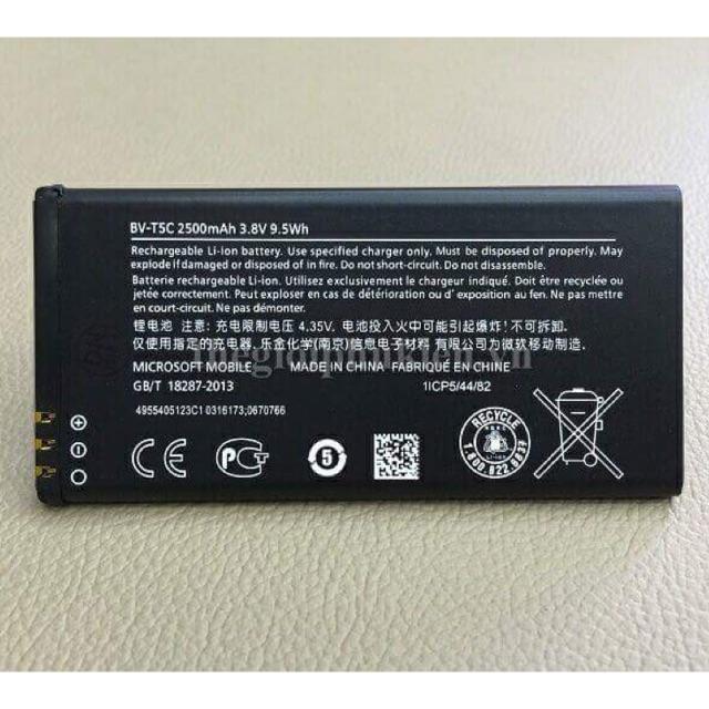 Pin cho máy Lumia 640 BV-T5C 2500mAh