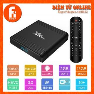 Yêu ThíchAndroid TV Box X96 Air - Amlogic S905X3, 2GB Ram, 16GB bộ nhớ trong, Android TV 9.0