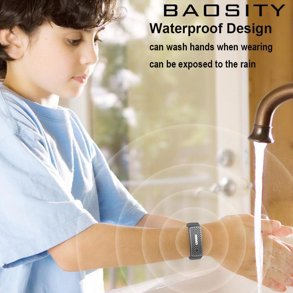 (Baosity) Đồng Hồ Đeo Tay Sóng Siêu Âm Chống Muỗi