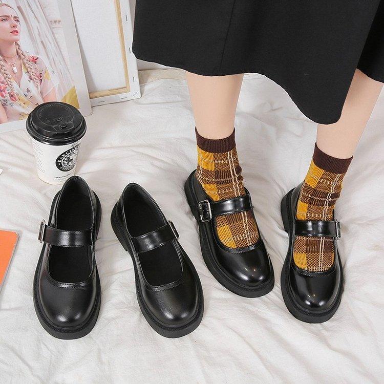 Giày Oxford Mũi Tròn Thời Trang Độc Đáo Cho Nữ