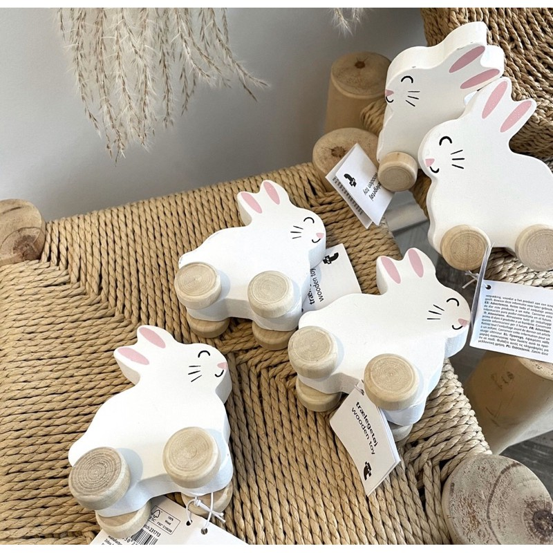 Vịt, Thỏ gỗ xuất dư Nga: Gỗ và sơn an toàn cho bé nguyên tag giấy