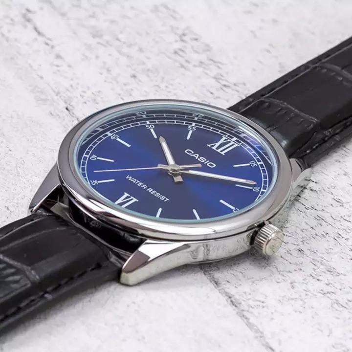 Đồng hồ nữ Casio Standard chính hãng Anh Khuê LTP-V005L-2BUDF- mặt xanh