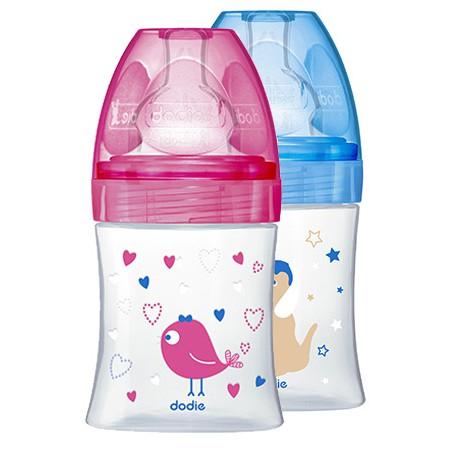 Bình sữa cổ rộng Dodie 150ml (