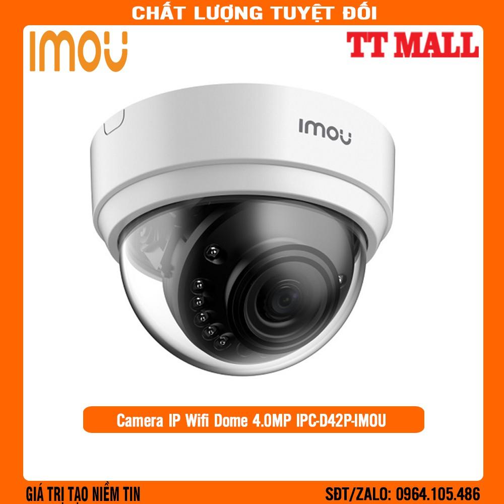 Camera IP Wifi Dome 4.0MP IPC-D42P-IMOU - Chính Hãng Bảo Hành 2 Năm