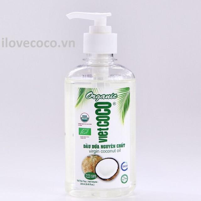 250 ml - Dầu dừa nguyên chất Vietcoco 250 ml