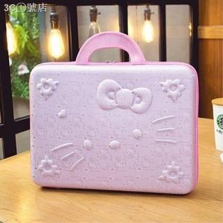 Túi Đựng Laptop Notebook 13.3 14 15.6 In Hình Mèo Kitty Dễ Thương