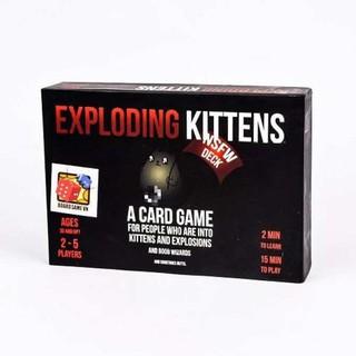 Mèo Nổ Đen Exploding Kittens Giá Rẻ