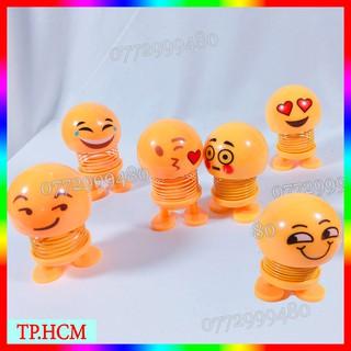 [GIÁ SỈ] Combo 6 mẫu Emoji lò xo nhún đầy cảm xúc [ĐƯỢC CHỌN MẪU]