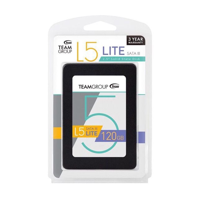 Ổ cứng SSD 120Gb Team L5 LITE 2.5″ Giá chỉ 510.000₫
