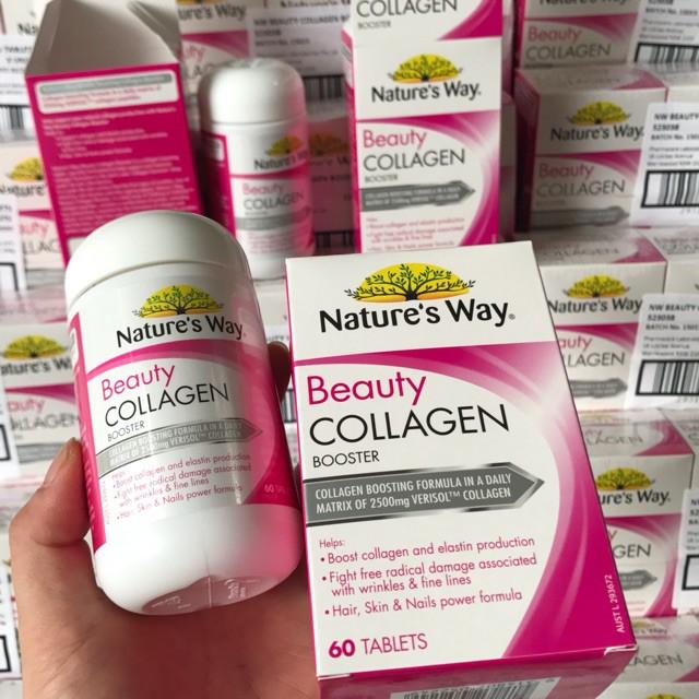 Viên uống Collagen Nature's Way Beauty Collagen 60 VIEN