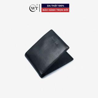 [Mã MABRL220 hoàn 15% đơn 99K tối đa 50K xu] Ví Da Nam Da Bò Cao Cấp Màu Đen, Màu Nâu WT Leather 0131.2, 0131.1 thumbnail