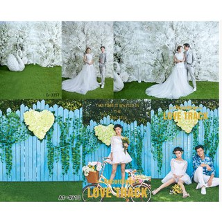Korean three-dimensional flower wall sea wedding photography background cloth flower wall flower studio live broadcast
