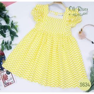 Đầm bé gái thiết kế June,Oliriver,