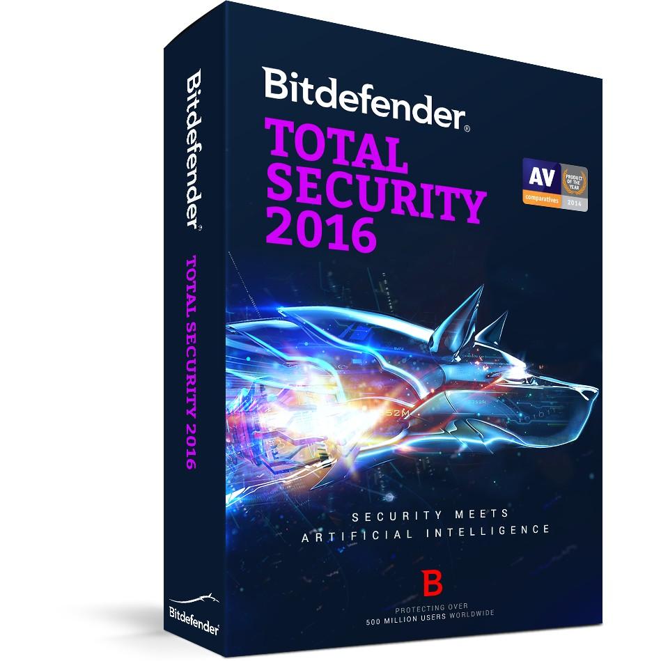 Phần mềm diệt virus Bitdefender Total 1PC Giá chỉ 190.000₫