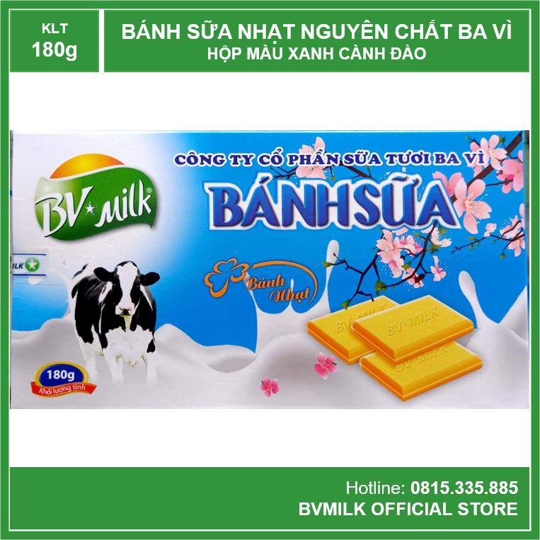 Bánh Sữa Nguyên Chất Ba Vì 180g - BVMILK
