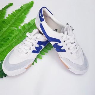 Giày bata Thượng đình💥FREESHIP💥Giầy bata nam, nữ màu trắng 35-43