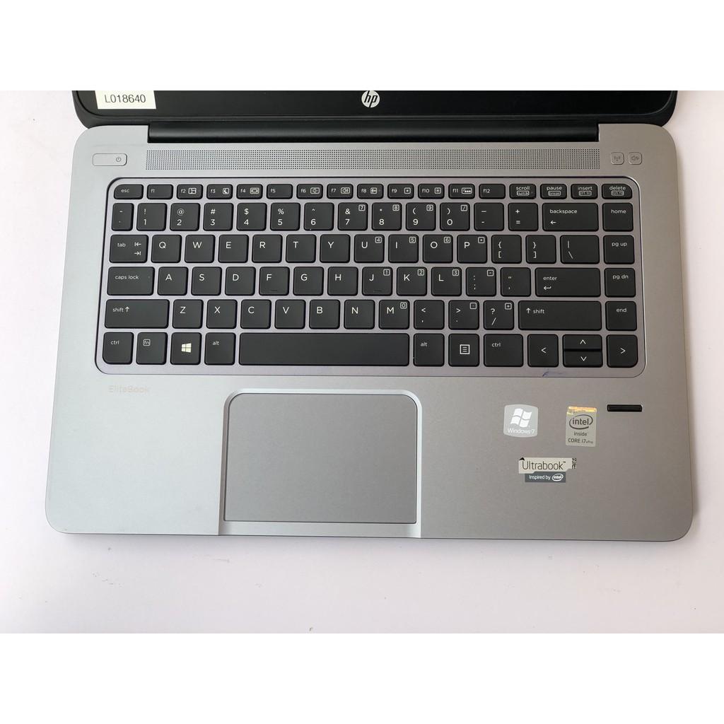 [Đẹp Bổ Rẻ] Laptop cũ HP Folio 1040 G1 i7 4600U, SSD 256, Màn 14 FHD vỏ nhôm nguyên khối