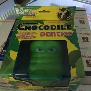 2 hộp Đồ chơi khám răng cá sấu thú vị nhất