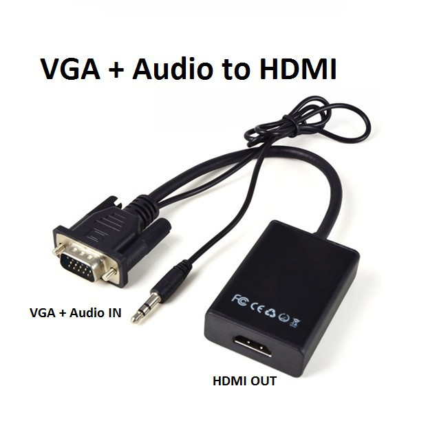 COMBO CÁP CHUYỂN VGA SANG HDMI AUDIO