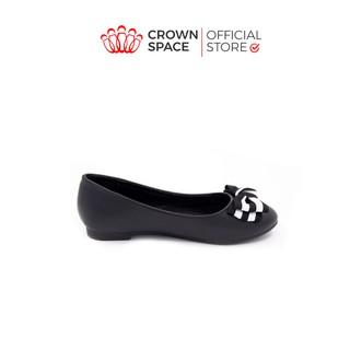 Giày Búp Bê Bé Gái Đi Học Đi Chơi Crown Space UK Ballerina Trẻ Em Cao Cấp CRUK3119 Nhẹ Êm Thoáng Size 32-36/8-14 Tuổi