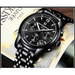 Đồng hồ nam ONTHEEDGE Dây kim loại khóa đôi Inox + Tặng hộp đồng hồ + Pin thumbnail