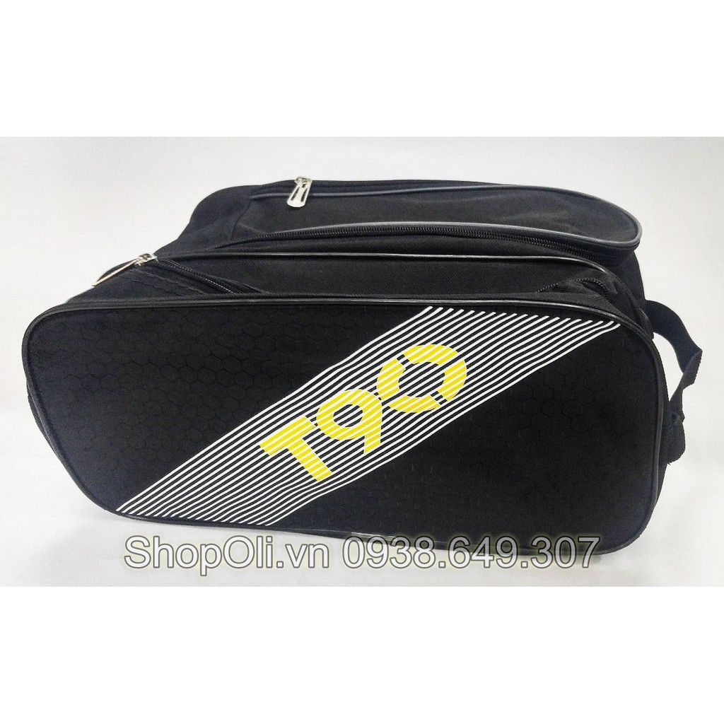 Túi đựng giày bóng đá T90 đen 2 ngăn