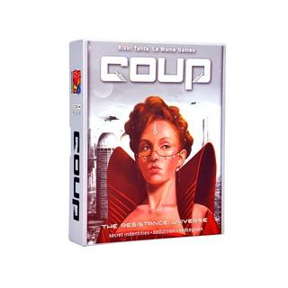 Trò chơi thẻ bài Boardgame Coup – Cuộc Chiến Quyền Lực