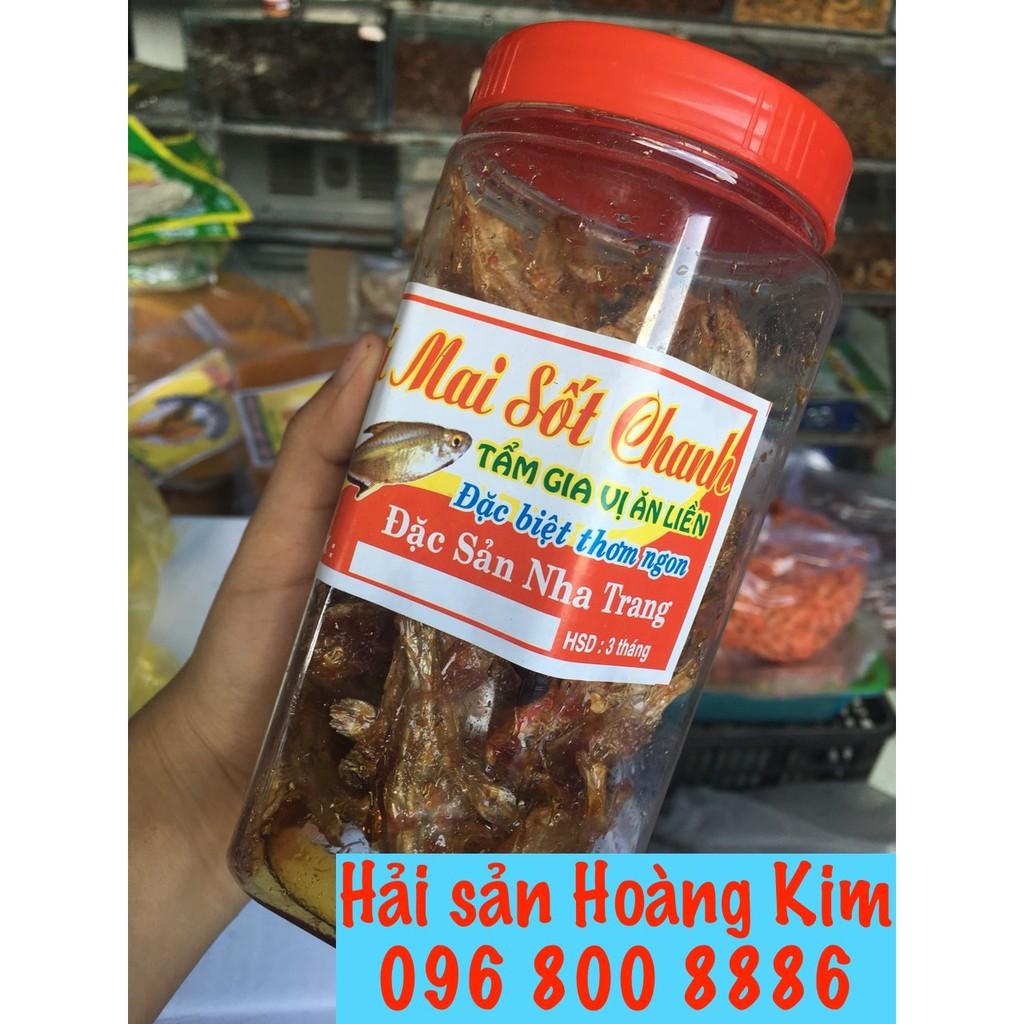Cá mai sốt chanh hũ 200 gram - Đặc sản Nha Trang