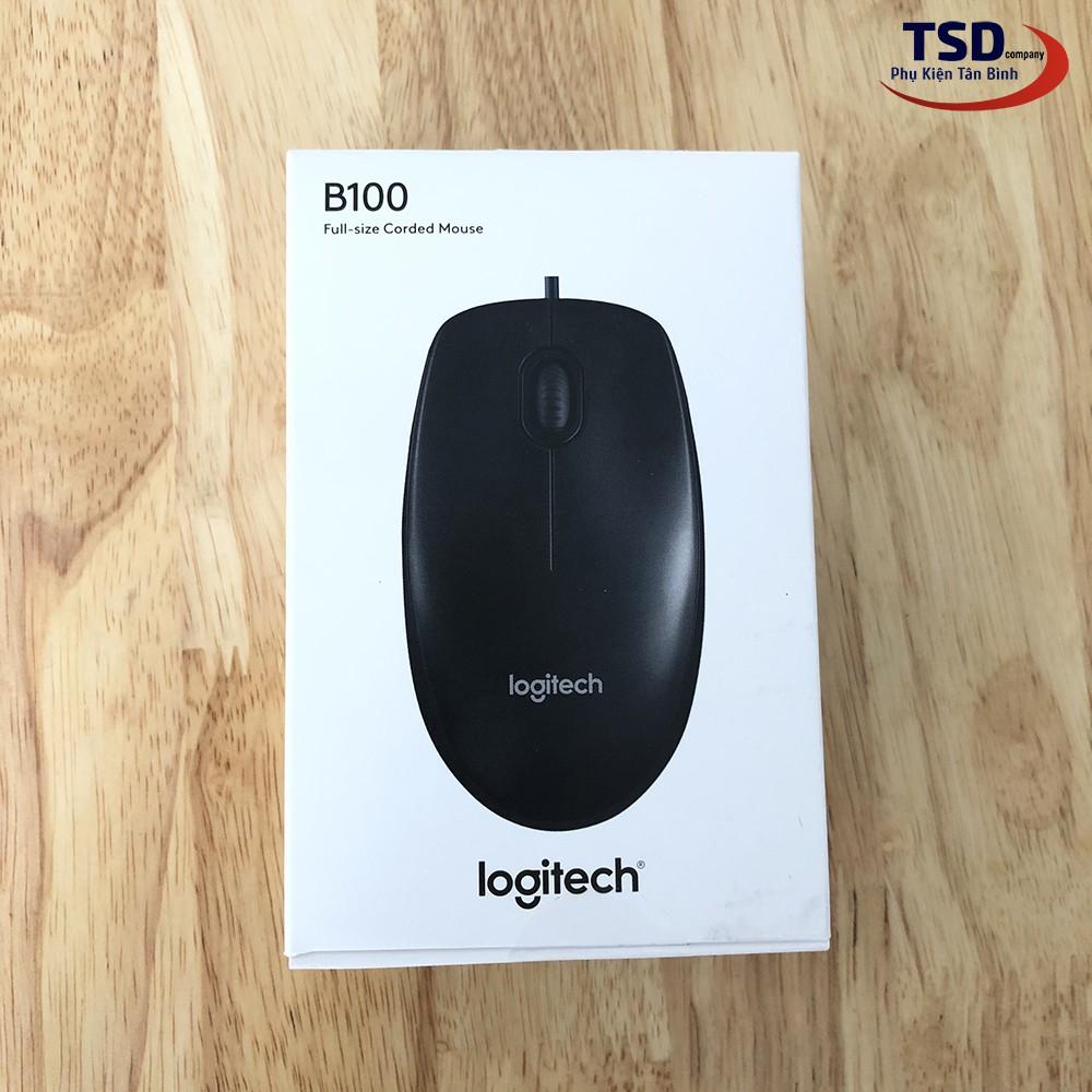 Chuột Logitech B100 Chính Hãng