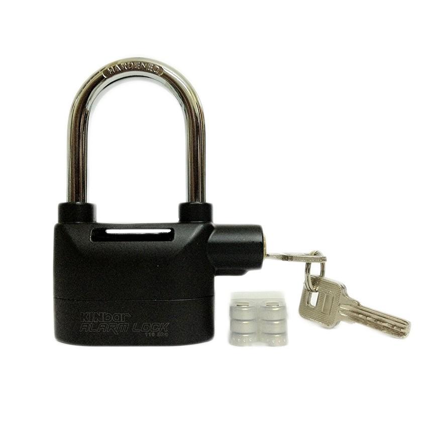 Ổ khóa báo động chống trộm Kinbar Alarm Lock 110DBA (Đen)