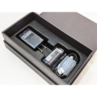 [Mã ELFLASH5 giảm 20K đơn 50K] Bộ phụ kiện bóc hộp BlackBerry Key2 K2 gồm sạc, cáp, tai nghe chính hãng mới 100%